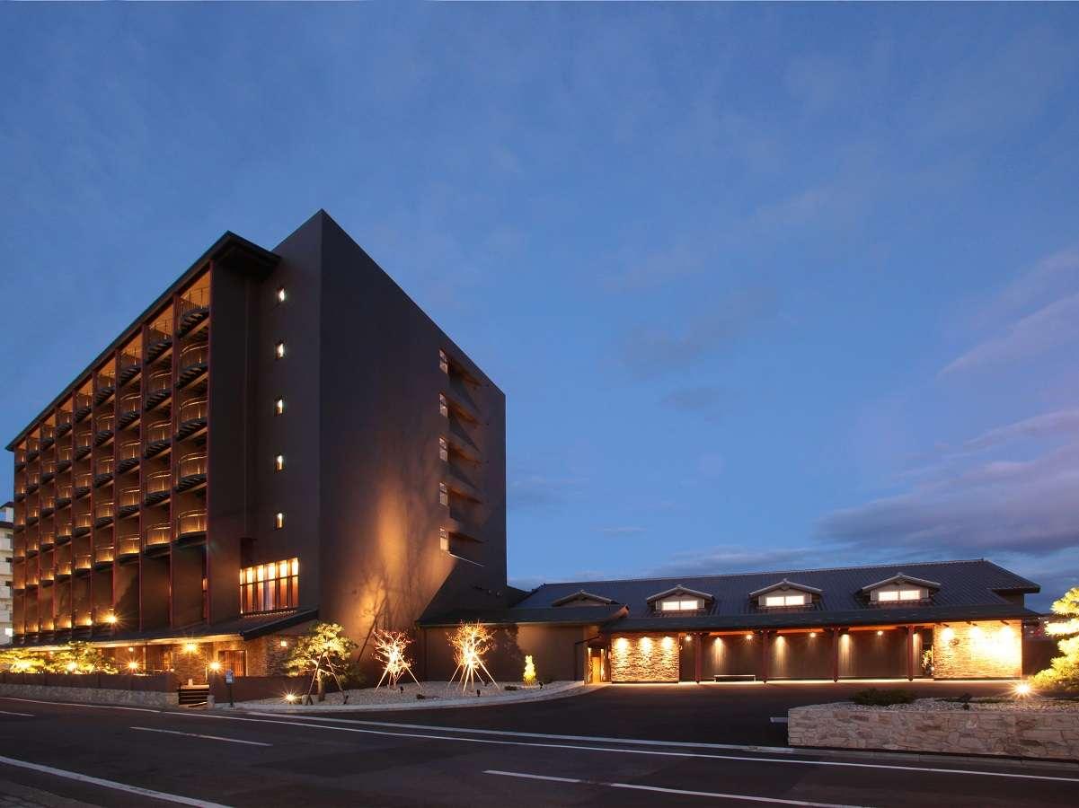 【外観】ホテル万惣へようこそ!