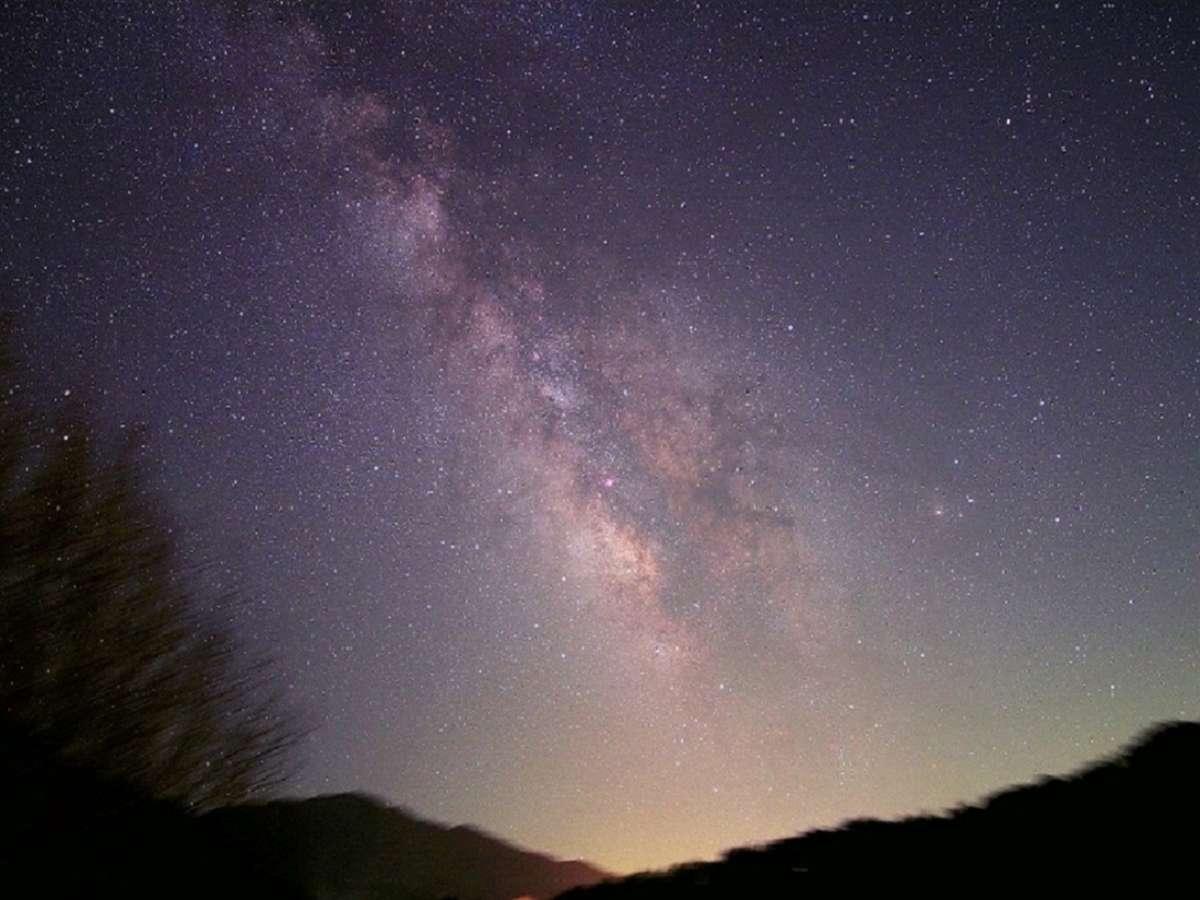 当館上空の 日本一の星空
