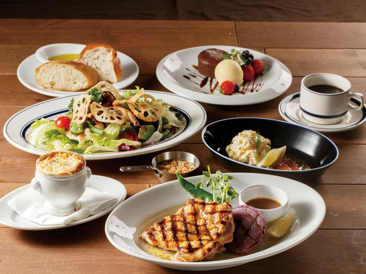 All Day Dining Karuizawa Grill スタンダードメニュー イメージ