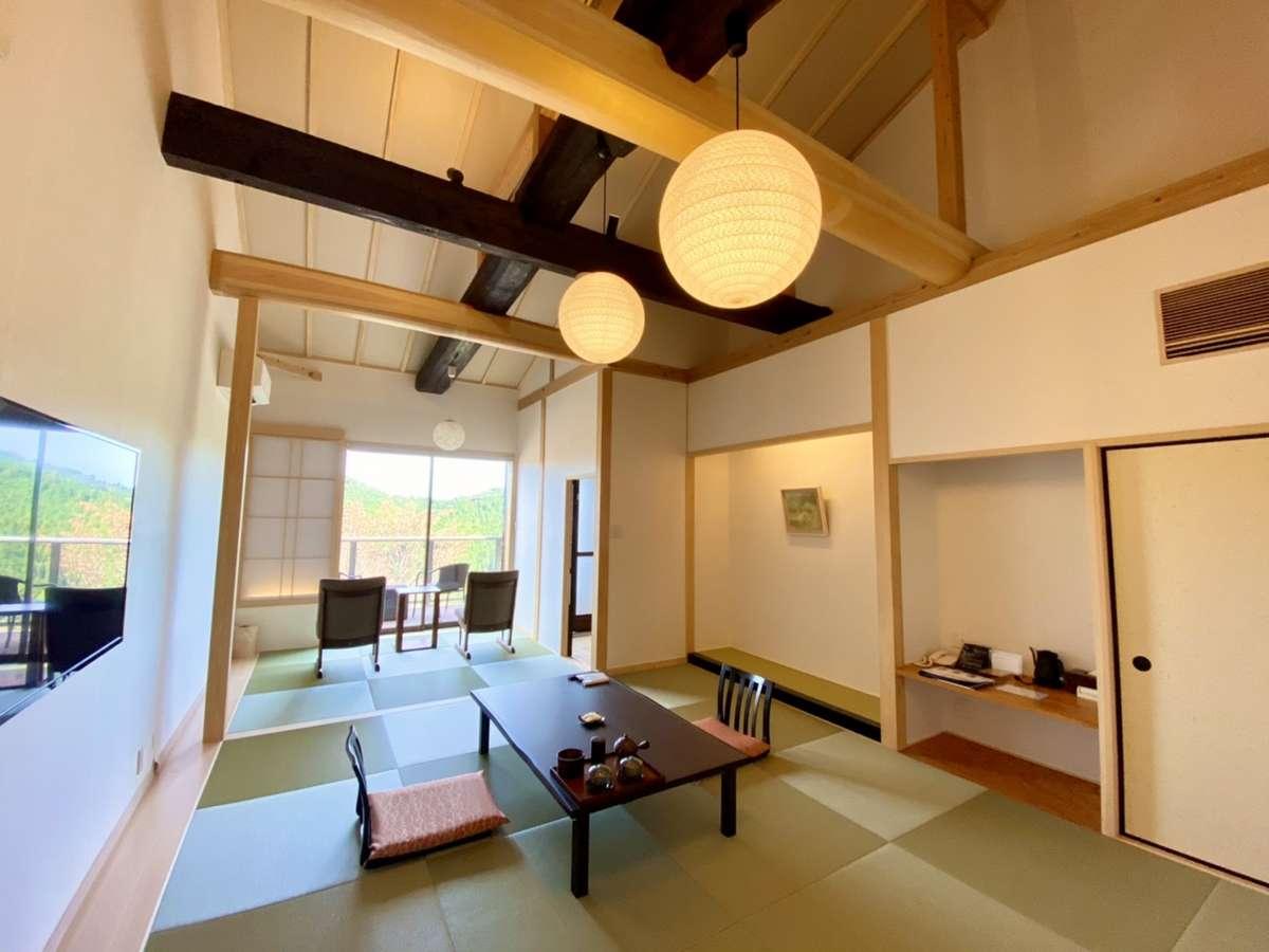 <2020年12月新築>【露天風呂付き特別室】和室10+4.5畳