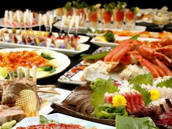 和食・洋食ブッフェ(イメージ画像)