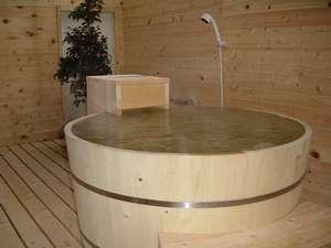 樽の露天風呂付き客室