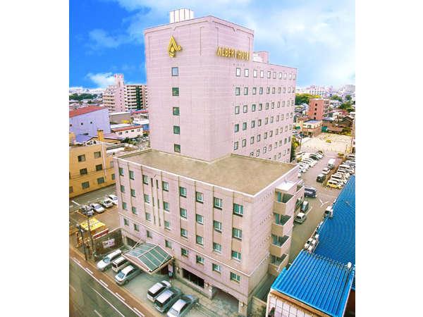 アルバートホテル秋田外観画像です。