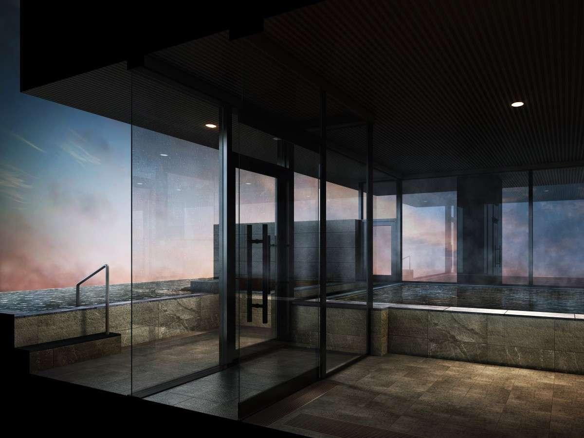 ■大浴場 ※イメージパース