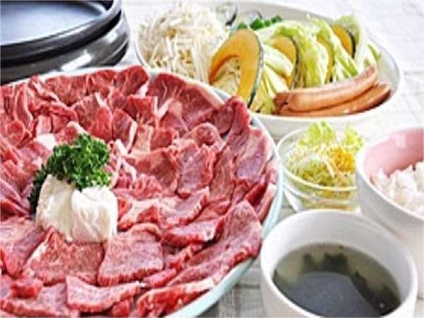 県産牛の鉄板焼きコース