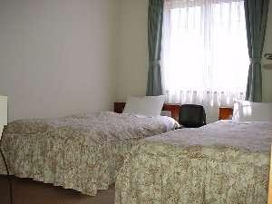 シンプルなお部屋なので落ち着いた時を過ごせます。