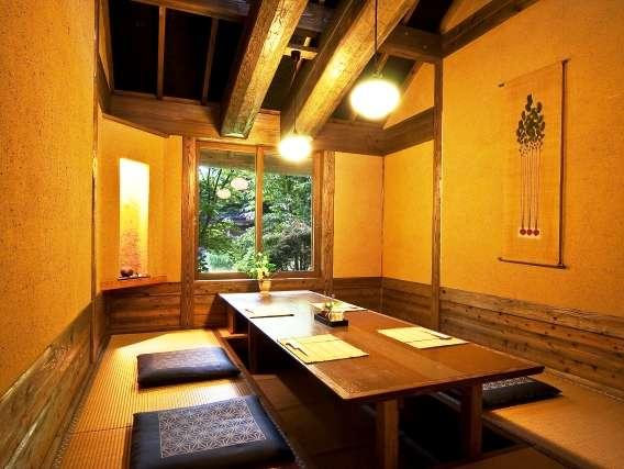 【食事処 花籠】個室
