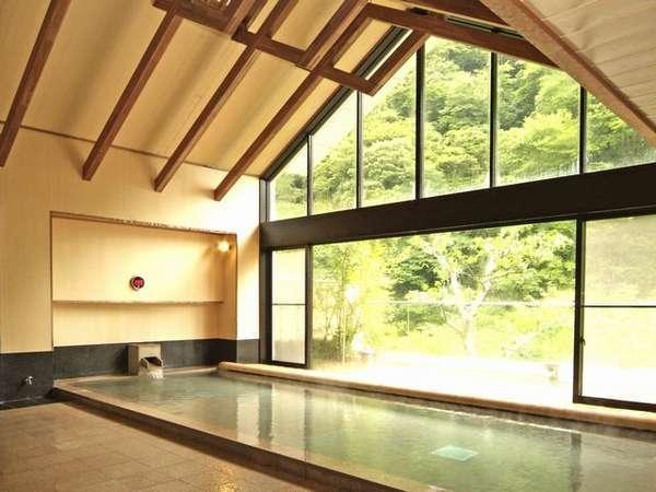 ◆大浴場「夢幻の湯」/サウナと露天風呂・寝湯を備えます。※イメージ