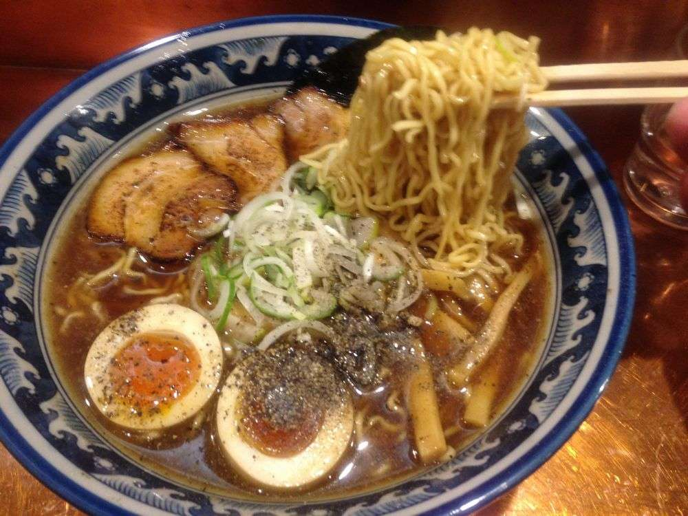 細麺&醤油味の、あっさりした飛騨の中華そば。美味しいお店お教えします♪