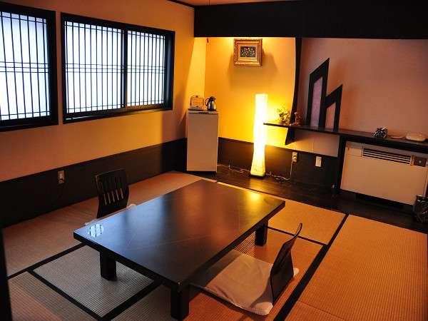 客室は、和室・洋室・別棟をご用意(写真は和室一例)。どのお部屋になるかは当日のお楽しみ♪