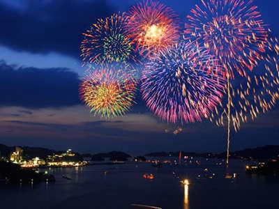 【7/28開催 鳥羽みなと祭り】約4000発の花火が海上を彩ります