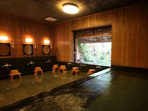 公共浴場~麦飯石を通したお湯は美肌効果や温浴効果があります