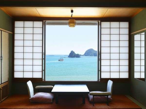 和風館タイプの客室(全室海側)