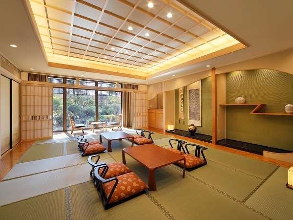 Japaneseスイート『欅』(96㎡)和室定員8名様のお部屋です。
