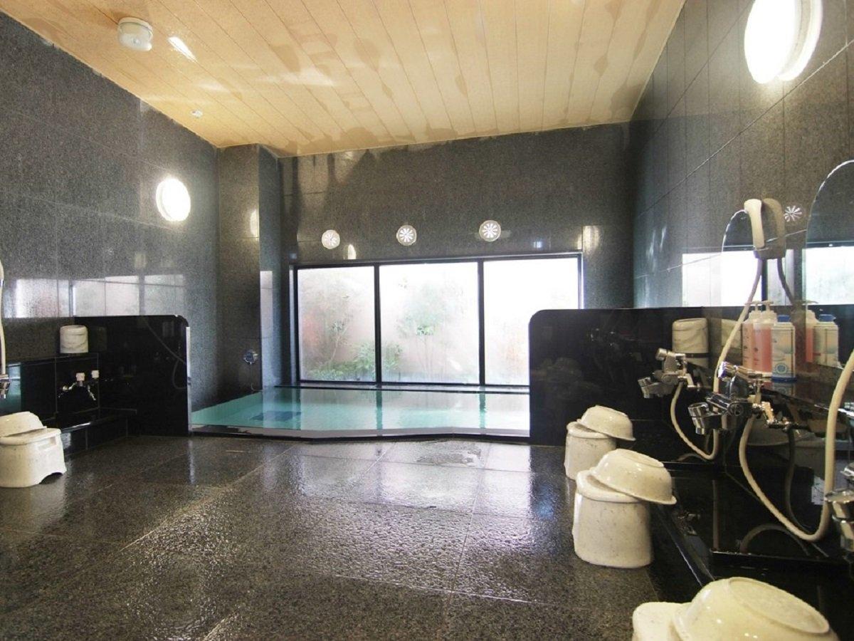 ◆ラジウム人工温泉大浴場「旅人の湯」男女別 【ご利用時間】15:00~2:00、5:00~10:00