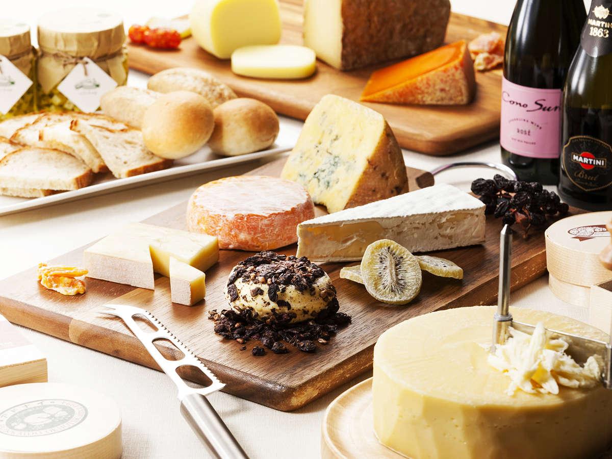 調理長がこだわり抜いた美味しいチーズが味わえるコーナーを新設!