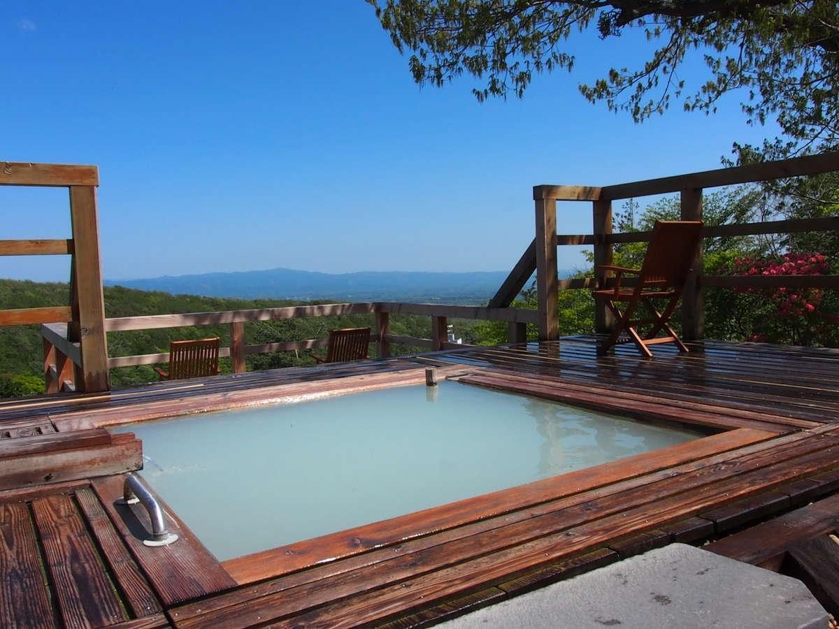 那須温泉一の絶景露天風呂