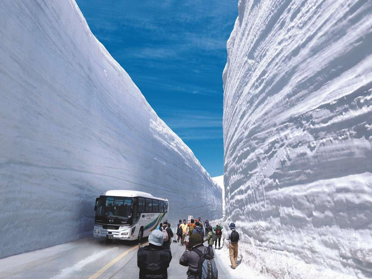 【雪の大谷】