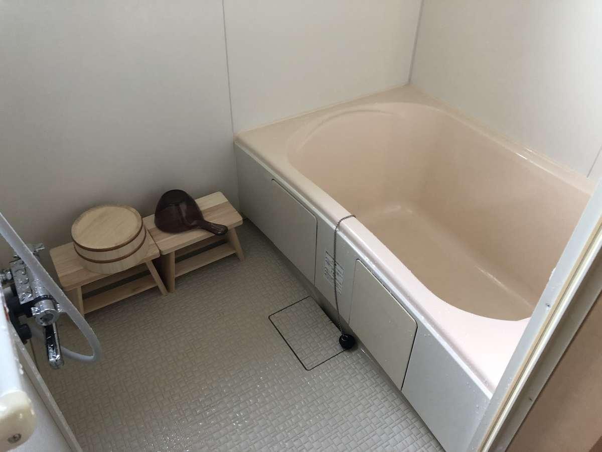 もちろんバスタブのあるの浴室です。