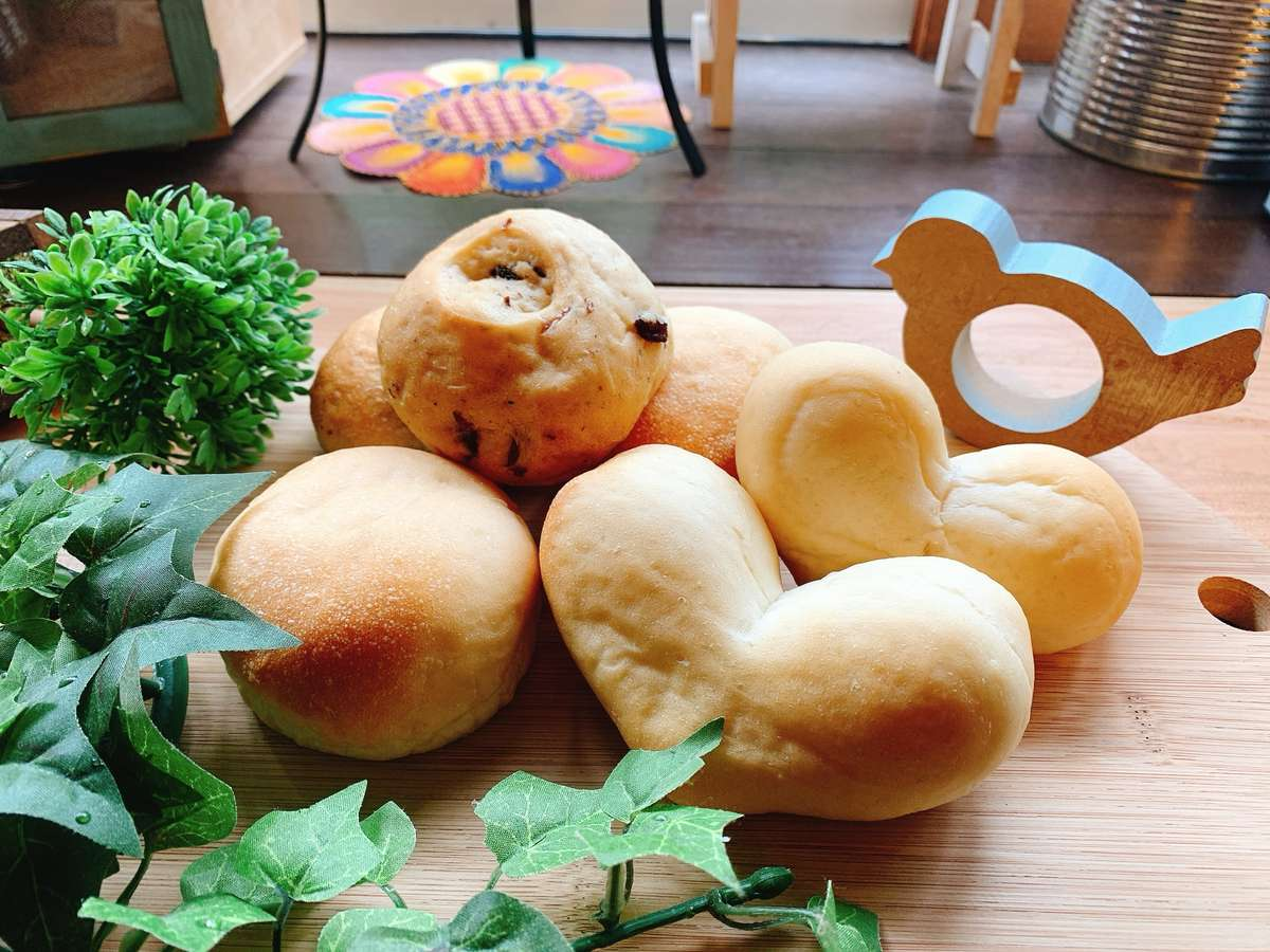 あぜりあママの手作りパン♪日々の様子はInstagram @あぜりあママで検索♪