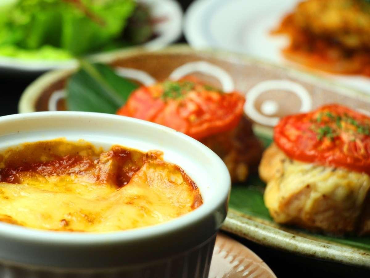 素材の良さを活かした、当館ならではのお料理をお楽しみください。
