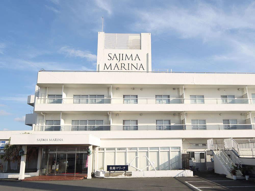 佐島マリーナホテル全景