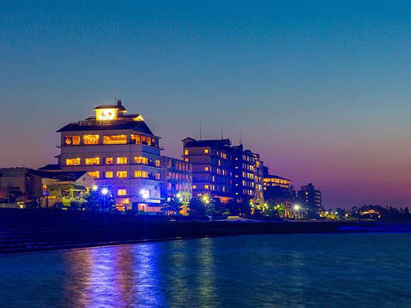 2019年7月リニューアル♪海が目の前の立地。1927年創業皆生で一番の伝統ある老舗