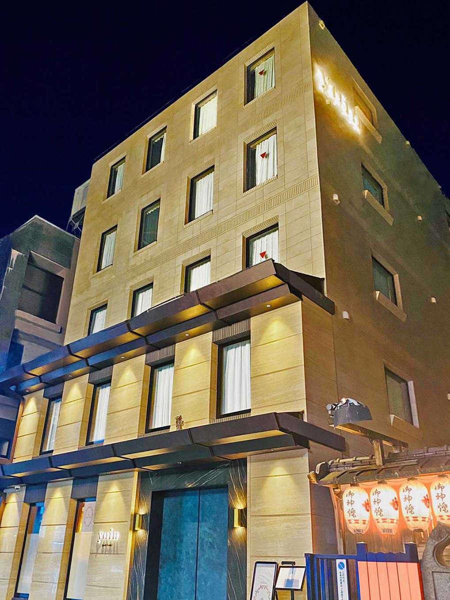 祇園の街に佇むyoin hotel