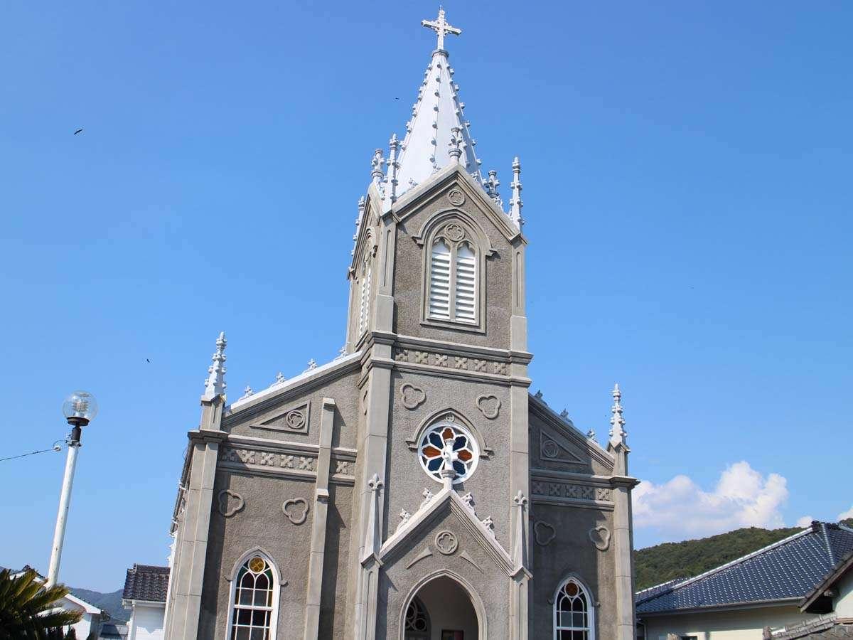 世界遺産候補の崎津教会は、本当に美しい教会です。