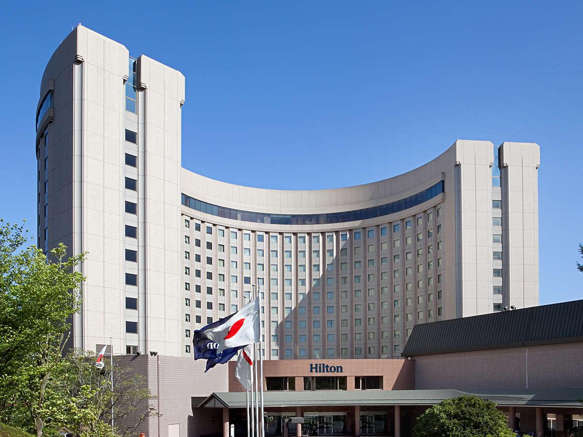 成田空港を望む緑豊かな1万坪の敷地、贅をつくしたくつろぎのアーバンホテル