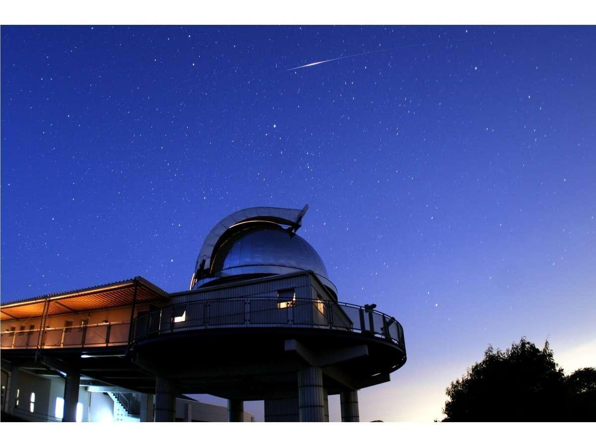 満点の星空と出会う旅。美星天文台へは車で約15分