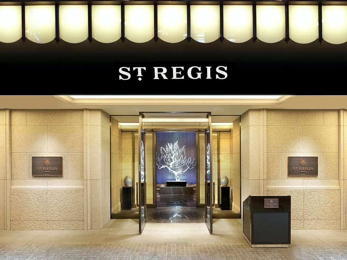 外観 NY生まれの5つ星ホテル「セントレジス」が極上のご滞在をお約束いたします。
