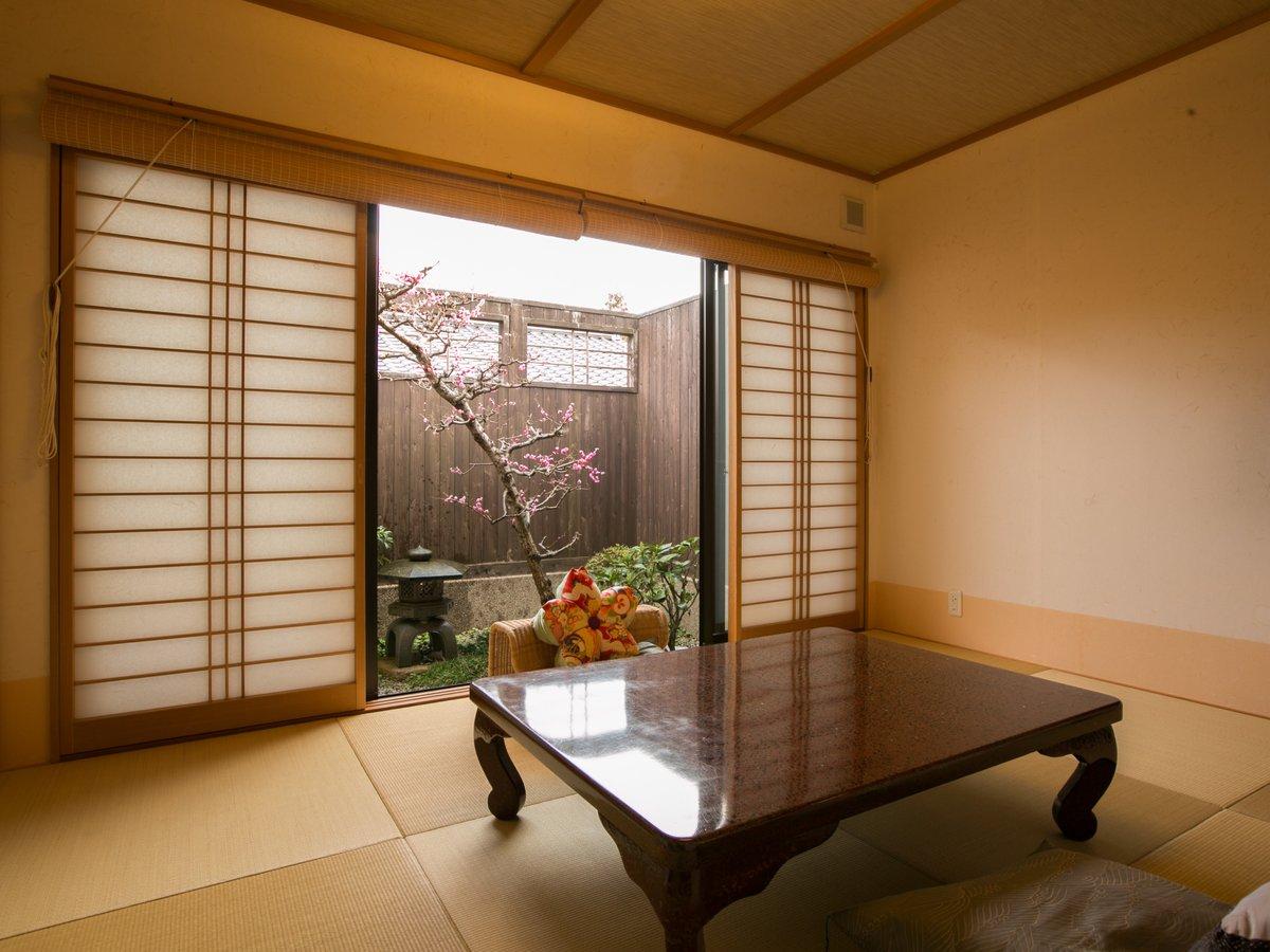 ・露天風呂付き客室【梅】