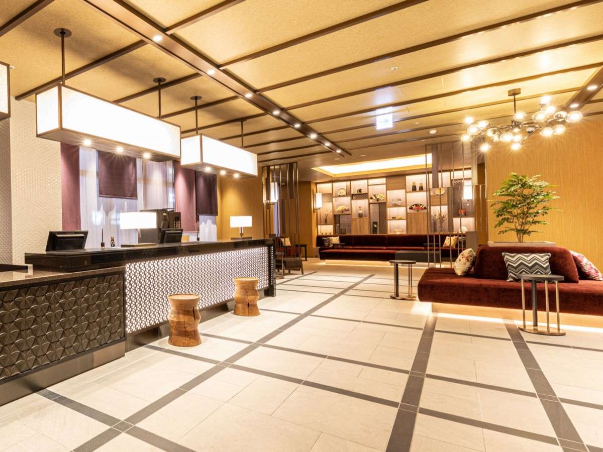 京都に触れるをイメージした館内で素敵なひとときをお過ごしください