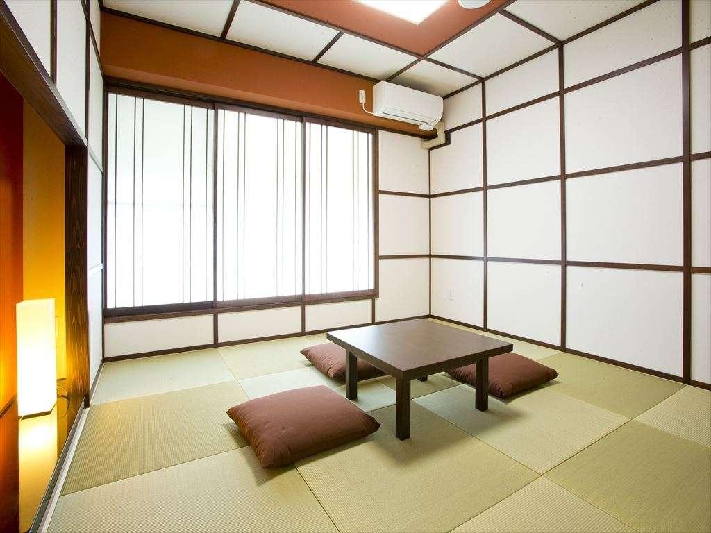 【和室】「やっぱり和室!」派のお客様が快適にお休みいただける設備、環境づくりにこだわっています。