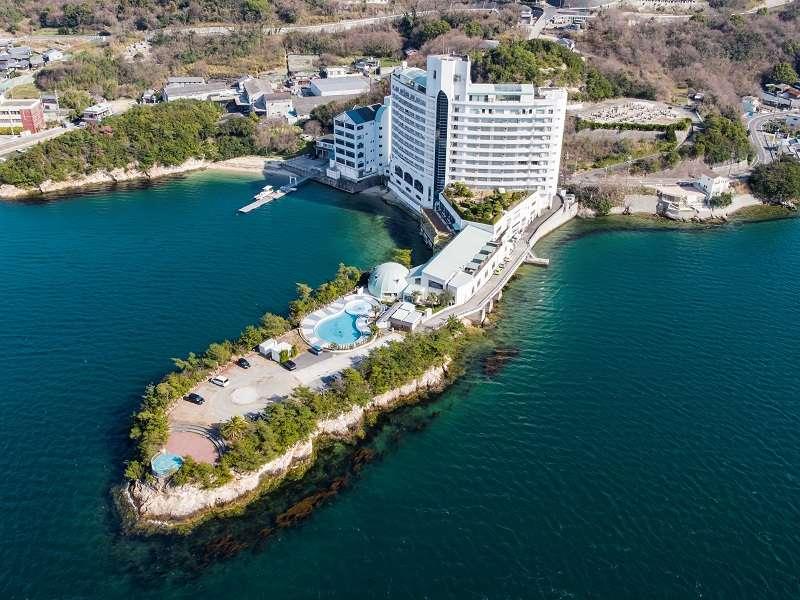 全室オーシャン&サンセットビュー!!自然の半島の形を活かしたホテル施設でリゾート気分を満喫♪