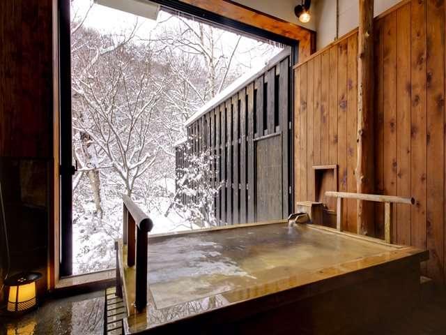 貸切風呂「槇の湯(雪見)」
