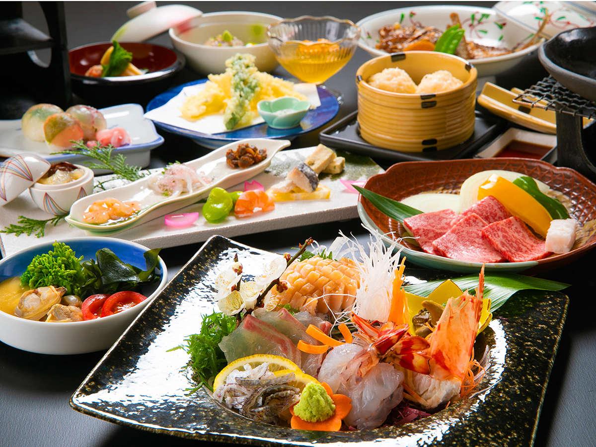 """◆佐賀美食会席◆""""海の幸""""も""""山の幸""""も贅沢に味わえる特別な会席"""