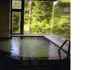 天然温泉かけ流し展望風呂