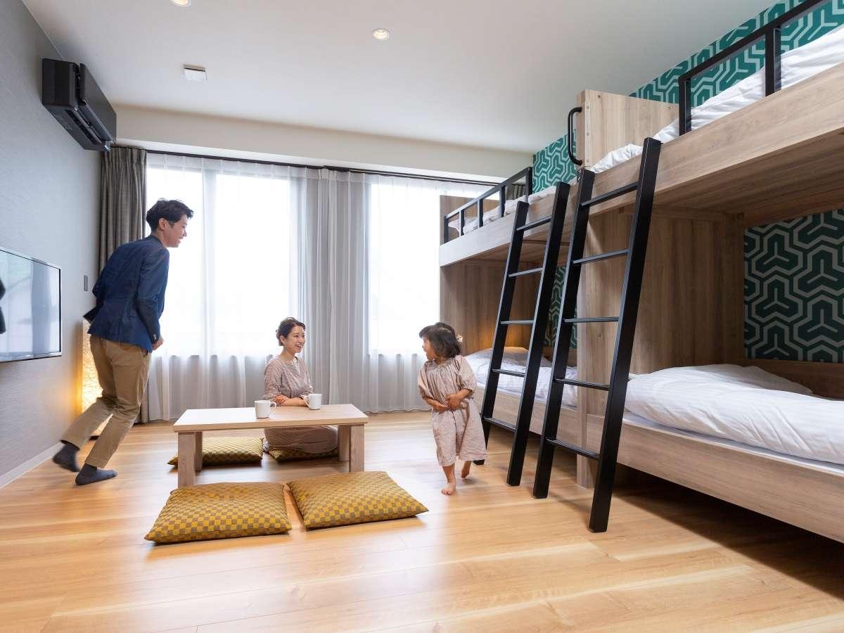 2階K-park:お子様も喜ぶお部屋が多数ございます。