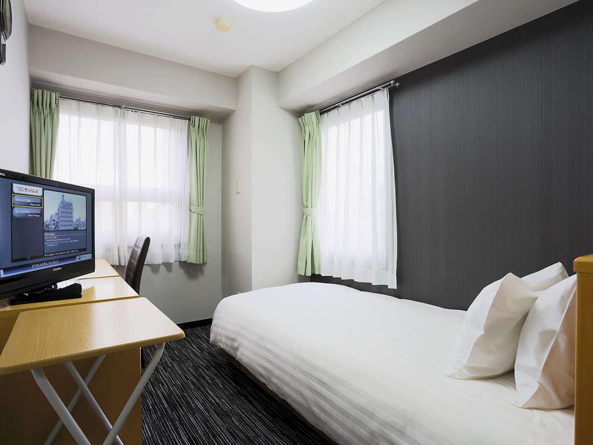 ・【シングルA(SA)客室一例】当ホテル標準のシングルルーム