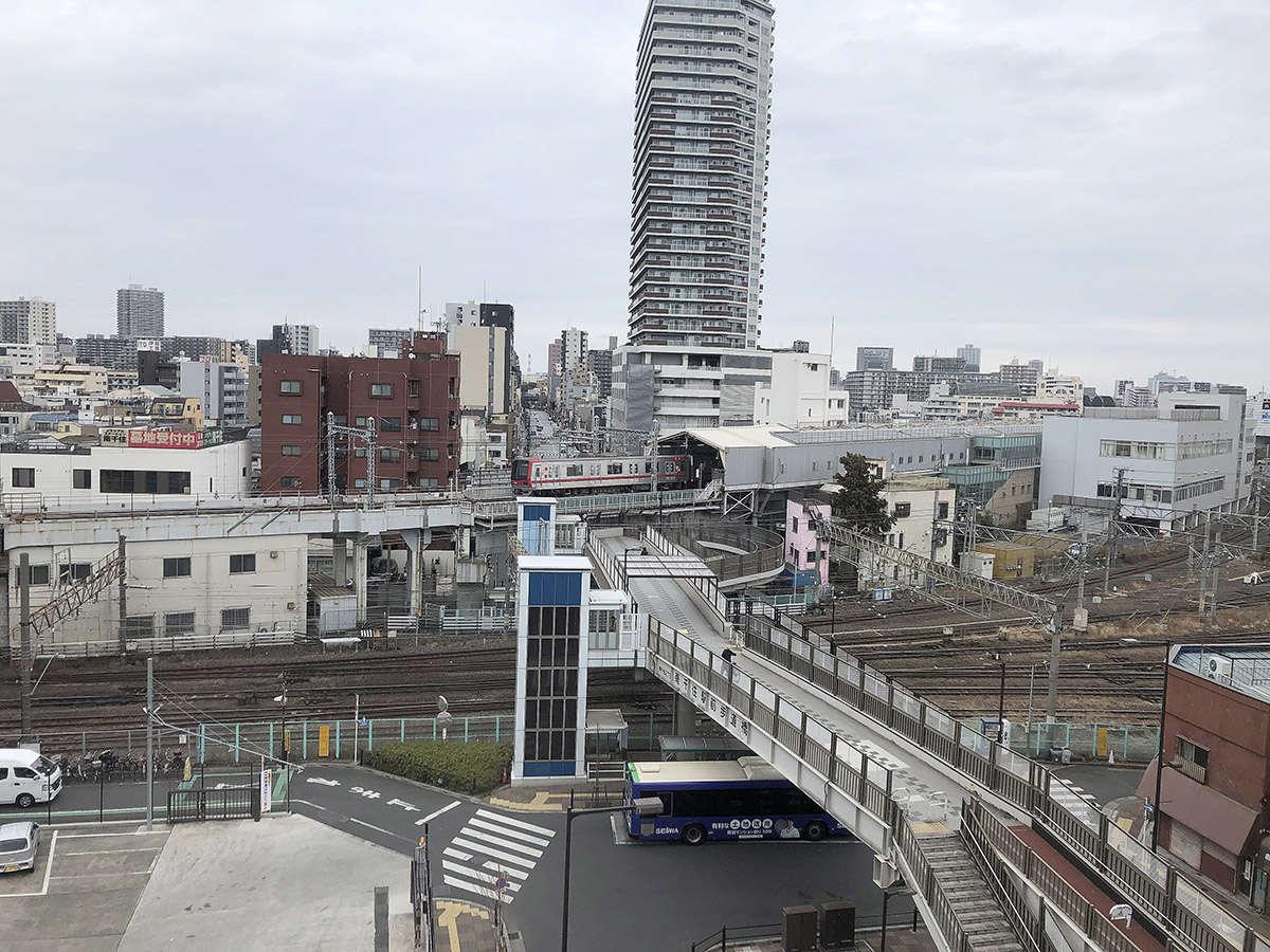 ・客室からの景観(駅側)