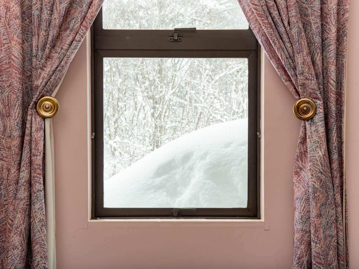 雪景色が落ち着きます