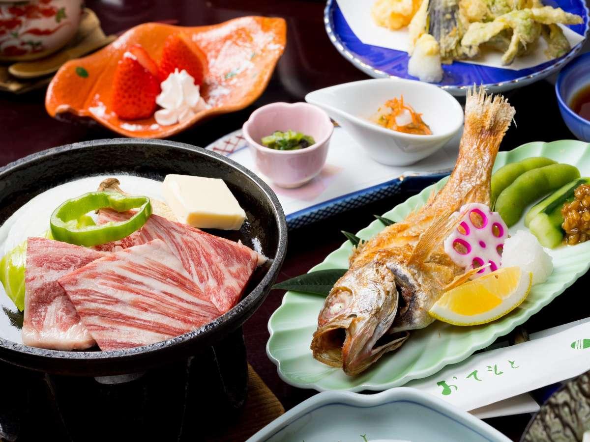 ブランドしまね和牛×高級魚のどぐろの贅沢コラボプラン!島根の美味を楽しめる