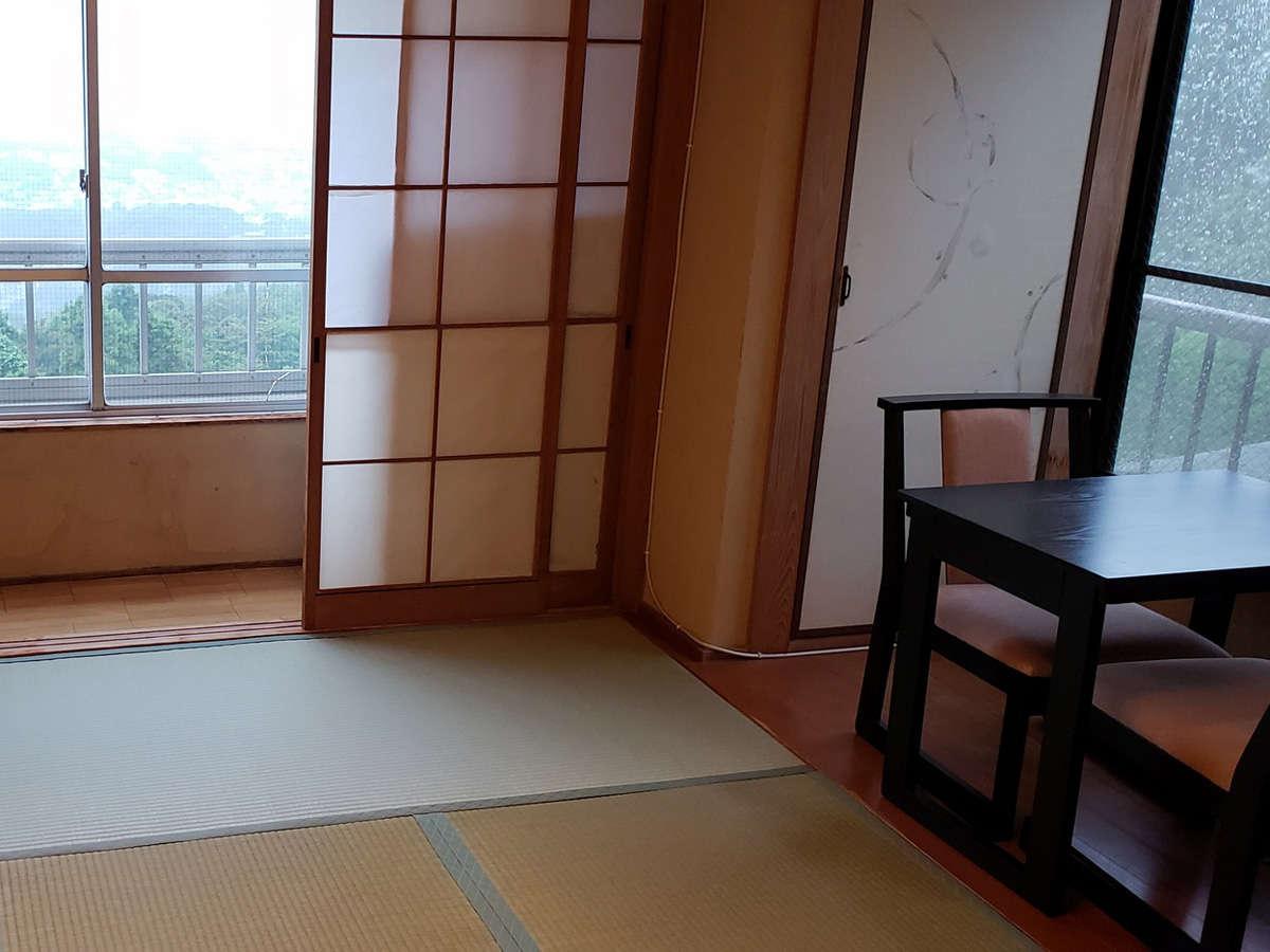 夜景が見える和室(角部屋) ※角部屋の指定は出来ませんのでご了承下さい。
