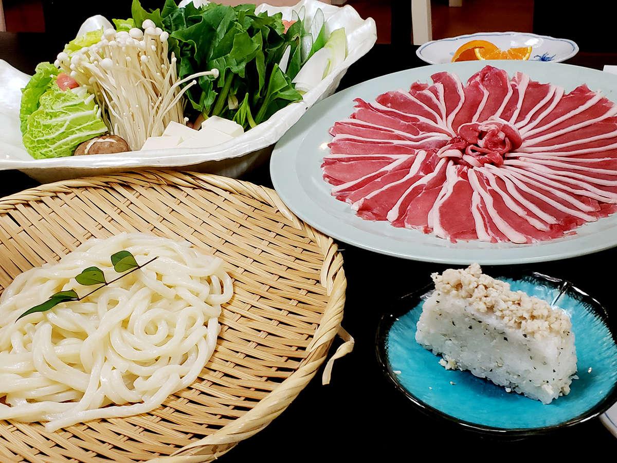 【冬限定◆特典付】天然猪肉使用★ほっこり♪ぼたん鍋