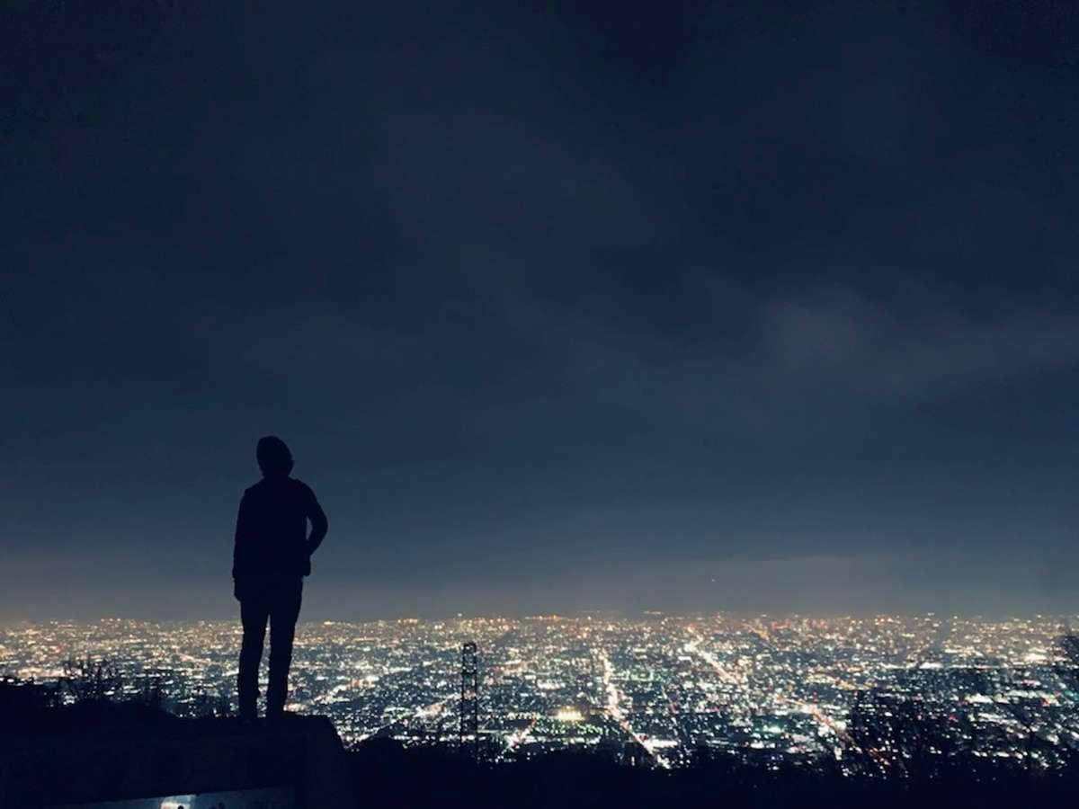 *生駒の夜景