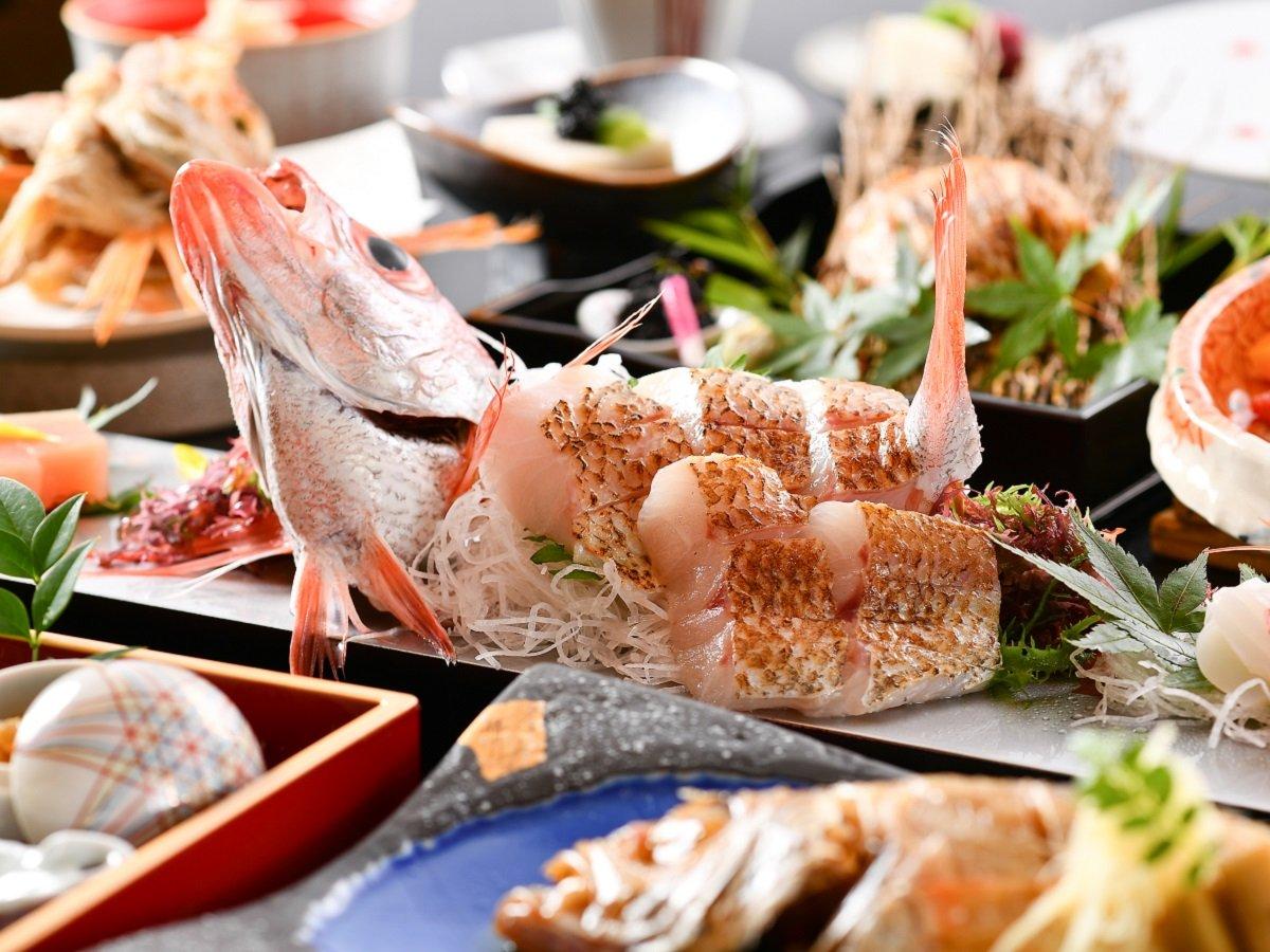 【のど黒尽くし】北陸が誇る高級魚「のど黒尽くし」を存分にご堪能下さい。※お料理イメージ