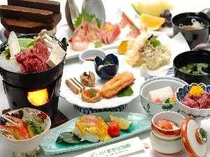 五戸名物「さくら鍋」をはじめとした和食膳イメージ
