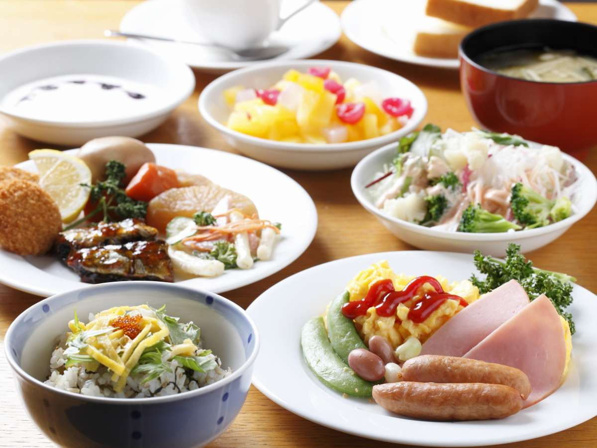 【朝食無料バイキング】道産食材を積極的に取り入れた、手作りメニューをお楽しみ下さい。(現在休止中)
